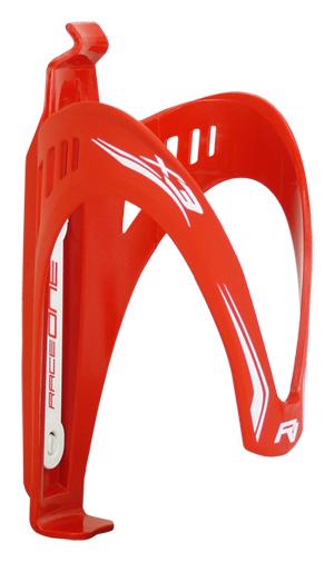 Bezvakolo košík na láhev RACE ONE -X3 červený
