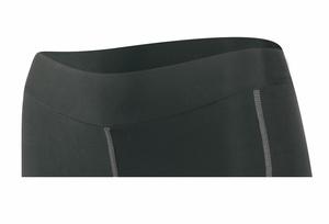 Force kraťasy LADY BIKE 3/4 do pasu s vložkou, černé
