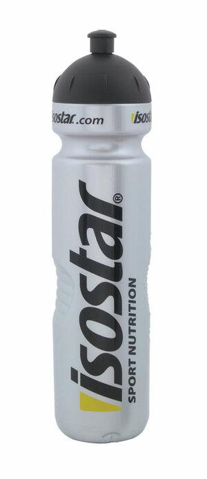 Isostar láhev 1 l stříbrná