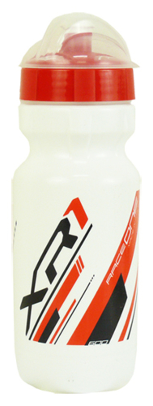 láhev RACE ONE XR1, 0,6l bílo-červená