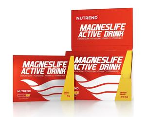 Nutrend MAGNESLIFE ACTIVE DRINK, 10x15g