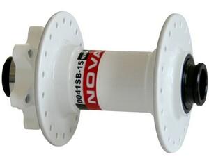 Novatec náboj D041SB-15, přední 36 děrový, bílý