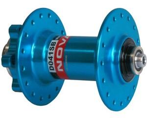 Novatec náboj D041SB, přední 36 děrový, modrý