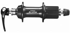 Shimano náboj zadní 105 HB-5800 10/11k, 32 děr, černý