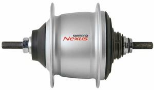 Shimano náboj zadní NEXUS SG-C600, 36 děr, stříbrný - bez pastorku