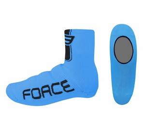 Force návleky treter pletené, modré
