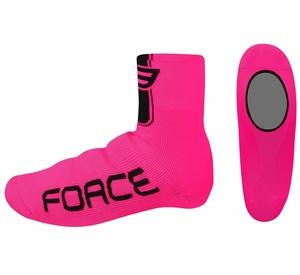 Force návleky treter pletené, růžové