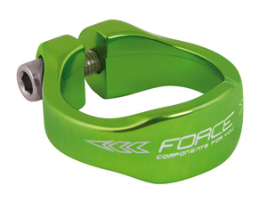 Force objímka sedlovky 31,8 Al zelená