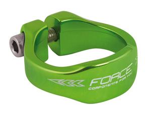 Force objímka sedlovky 34,9 Al zelená