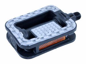 Bezvakolo pedály FEIMIN FP-833 plastové černé protiskluz extra