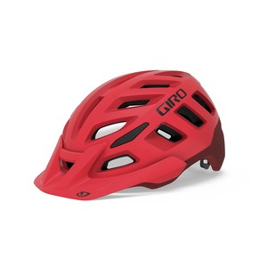 Giro helma RADIX Mat Bright Red/Dark Red