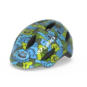 Giro helma SCAMP Blue/Green Creature Camo