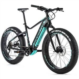 Leader Fox fat bike BRAGA černá/zelená
