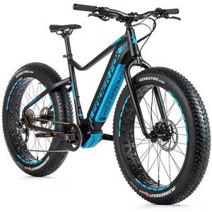 Leader Fox fat bike BRAGA černá/modrá