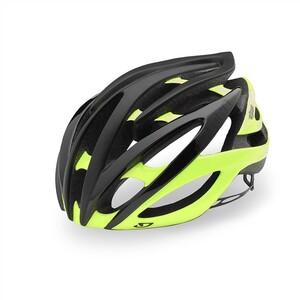 Giro helma ATMOS II Mat Black/Highlight Yellow