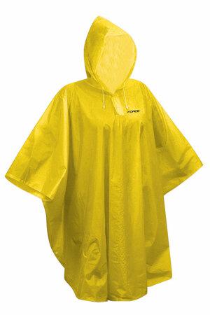 Force poncho dětské nepromokavé, žluté XS-M