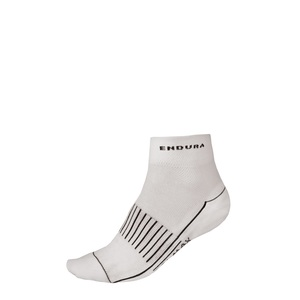 Endura ponožky COOLMAX RACE II socks white