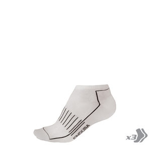 Endura ponožky COOLMAX RACE TRAINER white 3x
