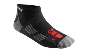 Cube ponožky Race Cut Blackline nad kotníky