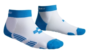Cube ponožky Race Cut Teamline nad kotníky