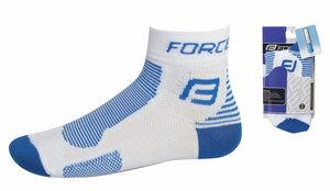 Force ponožky FORCE1 bílo-modré