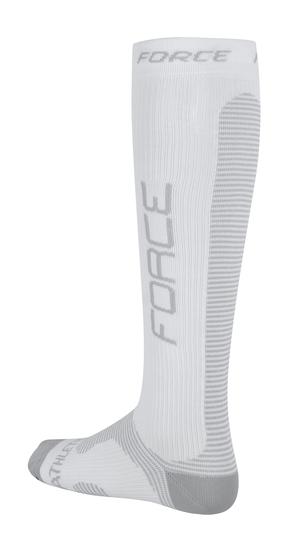 Force ponožky kompresní ATHLETIC PRO bílé