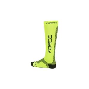 Force ponožky kompresní ATHLETIC PRO fluo