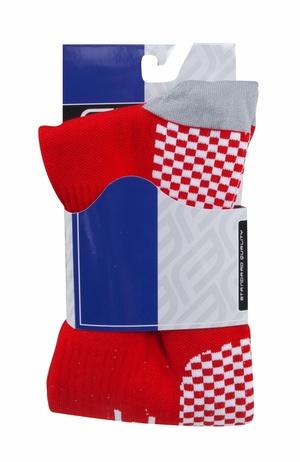 Force ponožky kompresní TESSERA, červené