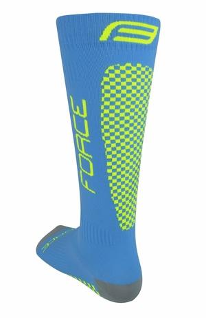 Force ponožky kompresní TESSERA, modré