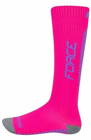 Force ponožky kompresní TESSERA růžové