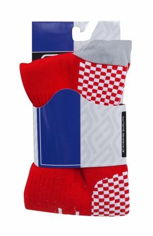 Force ponožky kompresní TESSERA WIDE, širší červené
