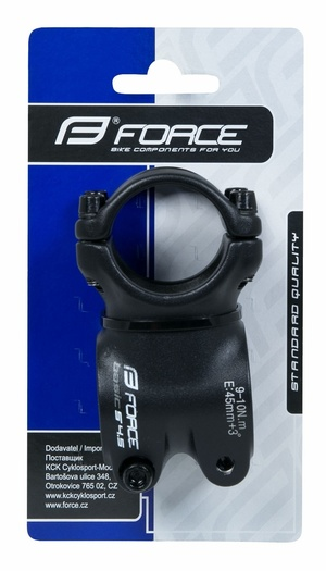 Force představec BASIC S4.5 31,8/45mm Al, černý