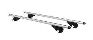 Bezvakolo příčníky střešní BRIO XL Al 1350mm, stříbrné