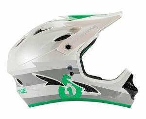 SixSixOne přilba Comp II bolt grey/green