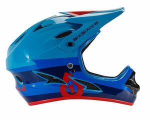 SixSixOne přilba Comp II bolt red/blue