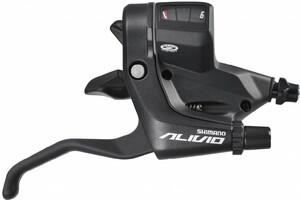 Shimano řadící a brzdová páka ALIVIO ST-M430 černá, pravá 9sp.