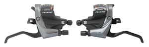 Shimano řadící a brzdové páky ALIVIO ST-M4000 stříbrné, 3x9sp.