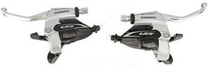Shimano řadící páčky ACERA ST-M360 stříbrné, 3x8sp.
