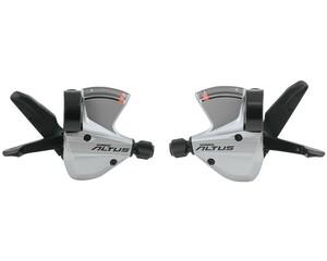 Shimano řadící páčky ALTUS SL-M370 stříbrné, 3x9sp.