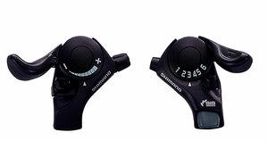Shimano řadící páčky SL-TX30 pravá a levá, 3x6sp.
