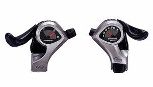Shimano řadící páčky SL-TX50 pravá a levá, 3x7sp.