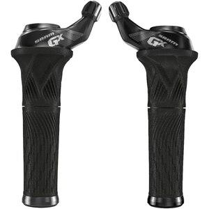 Sram řadící rukojeti GripShift GX pravá a levá, 2x11sp. černé