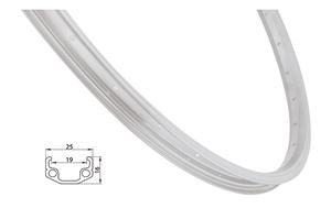 Remerx ráfek REMERX RMX219 559x19 36děr, stříbrný