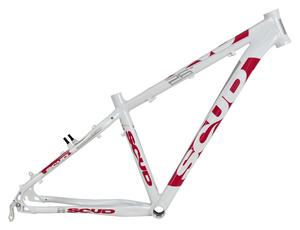 MRX rám 26 7SC bílo-růžový