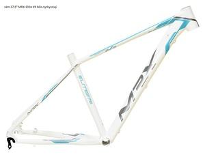 MRX rám 27,5 Elite X9 bílo-tyrkysový