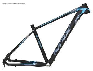 MRX rám 27,5 Elite X9 černo-modrý