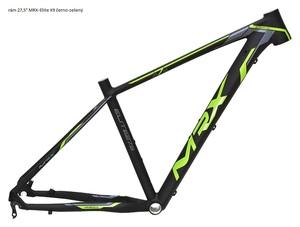 MRX rám 27,5 Elite X9 černo-zelený