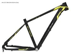 MRX rám 27,5 Elite X9 černo-žlutý