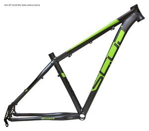 Scud rám 29 9SC šedo - zeleno - černý