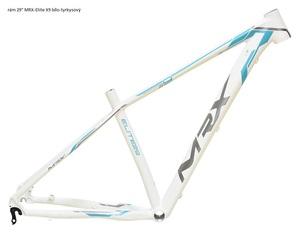 MRX rám 29 Elite X9 bílo-tyrkysový